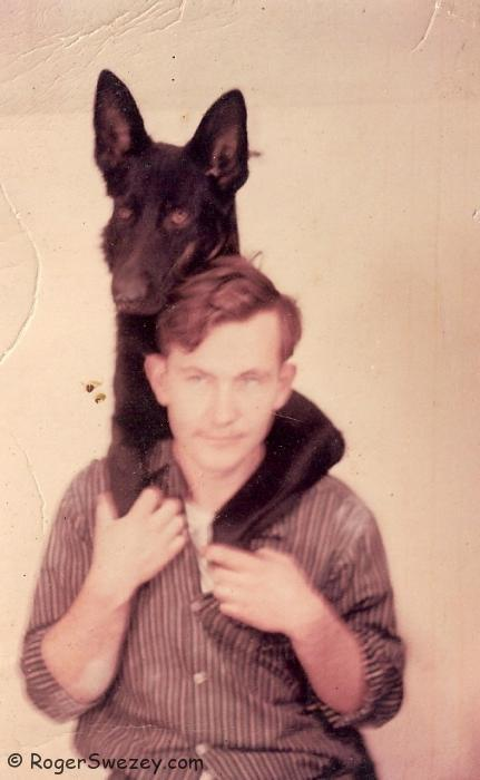 Me. 1956 in the East Village, NYC.